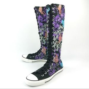 CONVERSE | ALL STAR | Knee High Butterfly Print